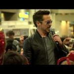 SDCC 2012: Robert Downey Jr Surprises Kids During Iron Man 3 Kids Costume Event - Video