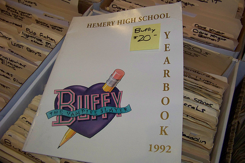 Buffy's other yearbook