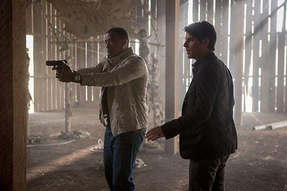 Grimm - Russell Hornsby, David Giuntoli2 S2E3