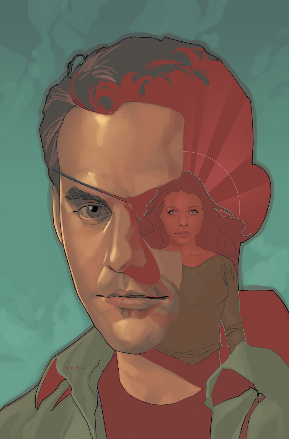 Art by Phil Noto.