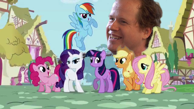 Joss and the Ponies of My Little Pony