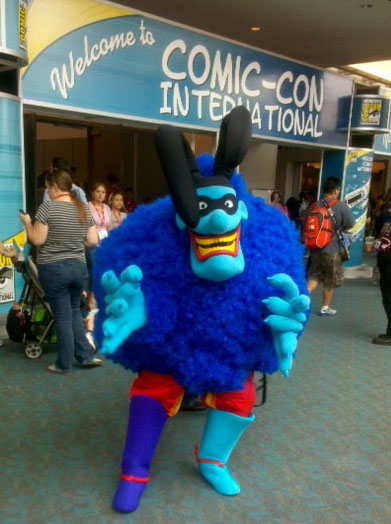 Blue Meanie  cropped