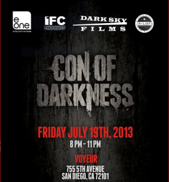 Con of Darkness poster