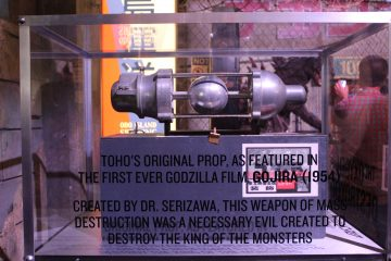 Dr. Serizawa's Weapon of Mass Destruction used to kill Godzilla in the first movie.