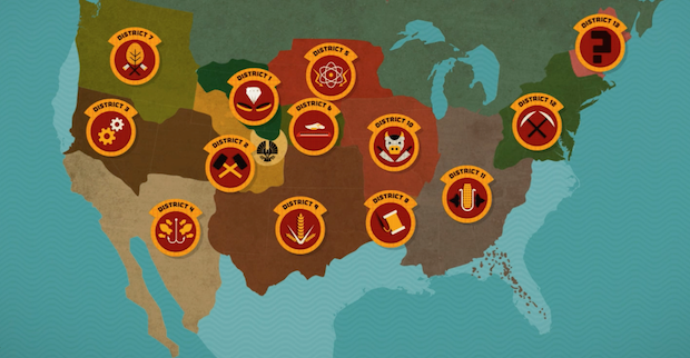 Catching Fire District Map