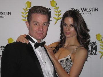 James & Jasmin Marsters on the red carpet at the Pasadena International Film Festival. Photo Credit: Isis Nocturne