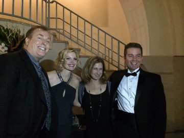 David Fury, Clare Kramer, Elin Hampton, and James Marsters at the Pasadena International Film Festival. Photo Credit: Isis Nocturne