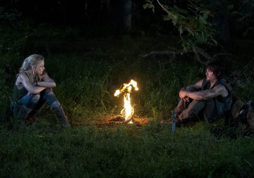Beth Greene (Emily Kinney) and Daryl Dixon (Norman Reedus) - The Walking Dead - Season 4, Episode 10 Photo Credit: Gene Page/AMC