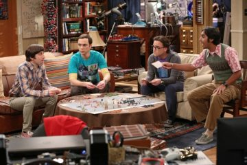 "Review: The Big Bang Theory 7.17- ""The Friendship Turbulence"""