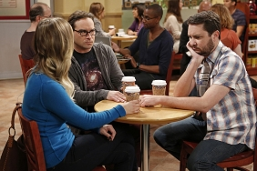 "Penny (Kaley Cuoco-Sweeting), Leonard (Johnny Galecki) and Will Wheaton (himself). The Big Bang Theory ""The Indecision Amalgamation"" Season 7 Episode 19 Photo credit: Cliff Lipson/CBS"