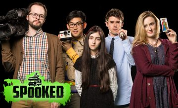 Spooked cast Geek and Sundry