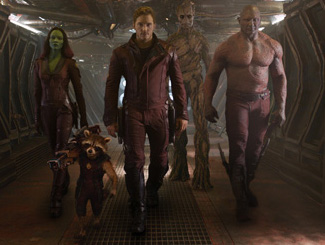 Guardians of Galaxy slow march