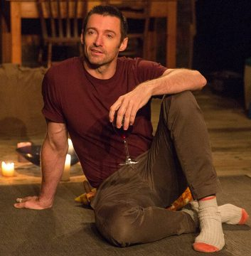 Hugh Jackman in 'The River.' Photo Credit: The River on Broadway FaceBook Page