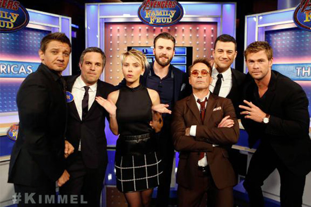 Avengers Assemble on Kimmel