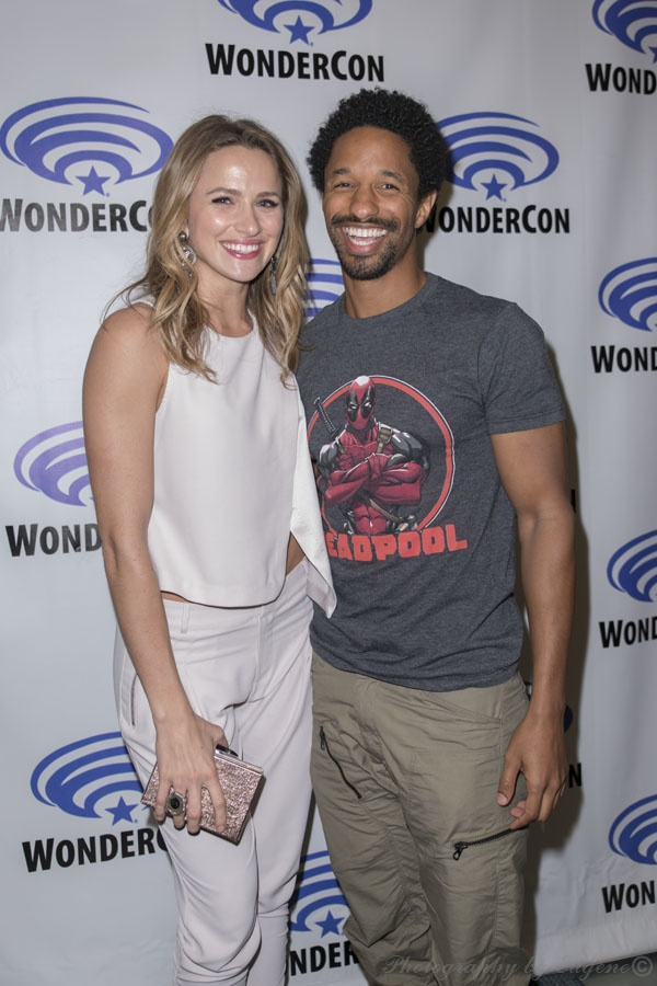 WCA 2015- The Messengers actors Shantel VanStanten and Craig Frank