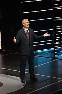 The CW Network's 2015 Upfront Presentation at New York City Center on Thursday, May 14, 2015 -- Image Number: UF2015_PRESENTATION_JF7055.jpg -- Pictured: Mark Pedowitz, President, The CW  -- Photo: John P. Filo /The CW -- © 2015 The CW Network, LLC. All rights reserved.