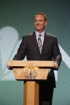 NBCUNIVERSAL EVENTS -- 2015 NBC Upfront Presentation -- Presentation to Advertisers -- Pictured: Robert Greenblatt, Chairman, NBC Entertainment -- (Photo by: Paul Drinkwater/NBC)