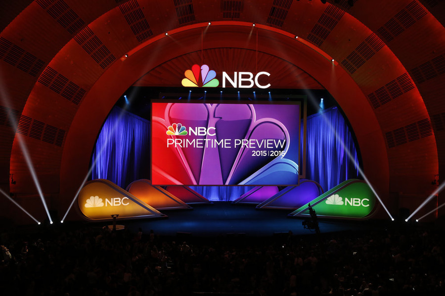 NBCUNIVERSAL EVENTS -- 2015 NBC Upfront Presentation -- Presentation to Advertisers -- Pictured: NBC Primetime Preview -- (Photo by: Peter Kramer/NBC)