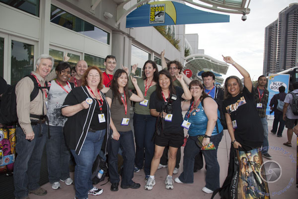 W Team at SDCC