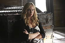 """The Vampire Diaries -- """"Age of Innocence"""" -- Image Number: VD703a_0386.jpg -- Pictured: Candice Accola as Caroline -- Photo: Quantrell Colbert/The CW -- © 2015 The CW Network, LLC. All rights reserved."""
