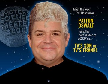 MST3K Patton Oswalt