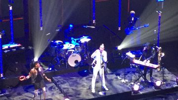 Fitz and the Tantrums perform at The CW Upfronts