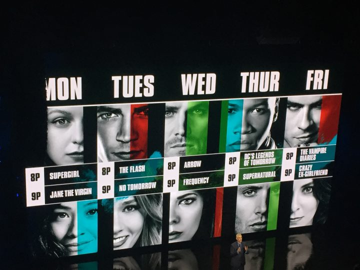 The CW Upfronts - The Fall Schedule