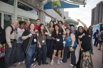 The Whedonopolis Gang at San Diego Comic-Con